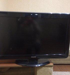 Подбитый телевизор