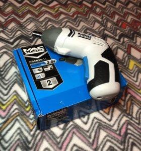 Аккумуляторный шуруповёрт 3.6 V ( MAC allister)