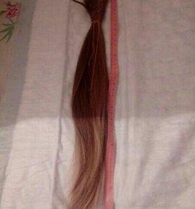 Натуральные волосы. 40 см.