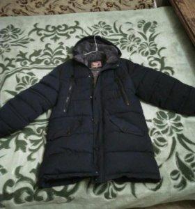 Мужское пальто. Зима