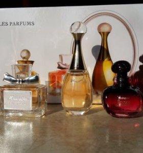 Набор ароматов Dior 5 в 1