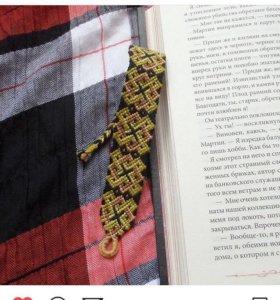 Фенечка косого плетения