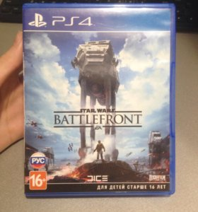 Игра ps4 Star wars battlefront