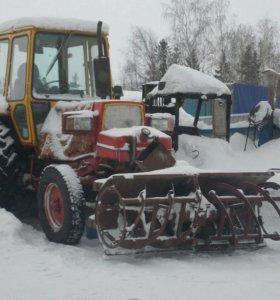 Трактор ЮМЗ шнеко-ротор