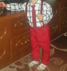 Костюм на мальчика 1 год