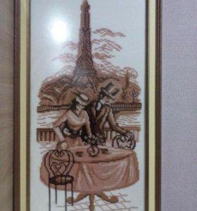 Картина крестик