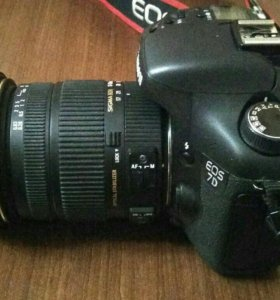 Canon 7D + объектив Sigma 17-50mm