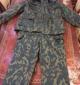 Камуфляжный зимний офицерский костюм