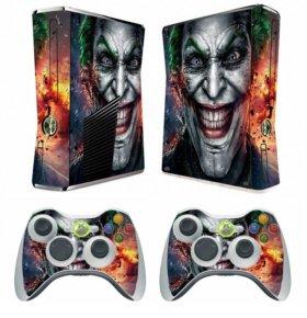 Наклейка на приставку Microsoft Xbox 360 Slim