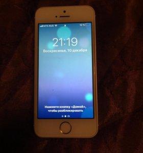 iPhone 5s на 16 гб в хорошем тех состоянии