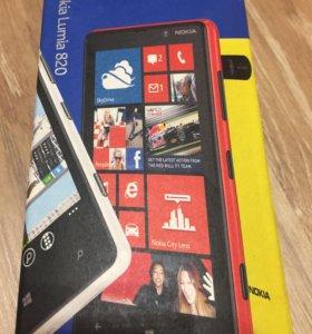 Телефон Nokia Lumia 820