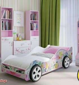Детская кроватка для леди. С матрасом в комплекте!