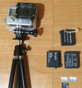 GoPro Hero4 Black Edition + куча няшек
