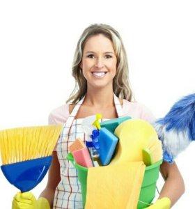Уборка квартир,домов, мытье окон.