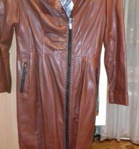 Пальто кожзам 48-50