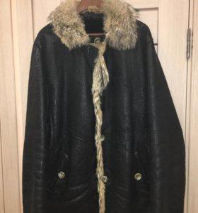 Куртка дубленка мужская 52-56 натуральная кожа