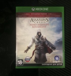 Игра для Xbox one assassins creed ezio collection