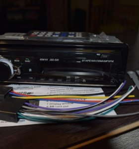 1DIN Bluetooth магнитола JSD-520. Новая