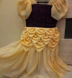 Платье праздничное для девочки 5-7лет