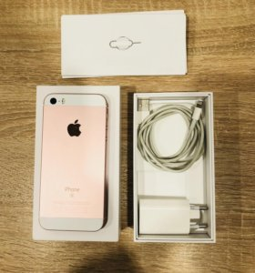 iPhone SE 128GB Rose Gold (отл.сост)