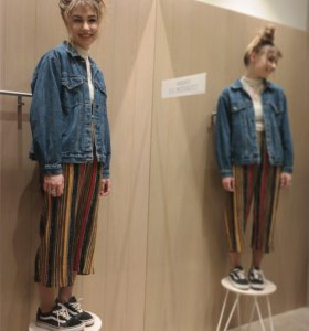 Объёмная джинсовка