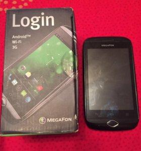 Мобильный телефон Мегафон