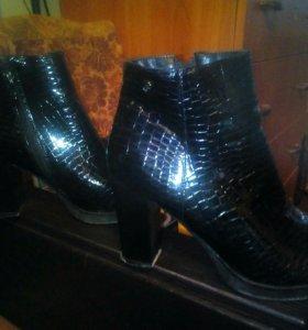 Сапоги и ботинки осень
