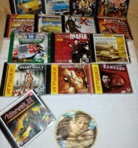 Игры для ПК, CD диски с подставкой