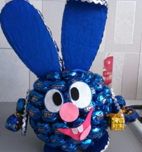 Игрушки из конфет, подарки на заказ