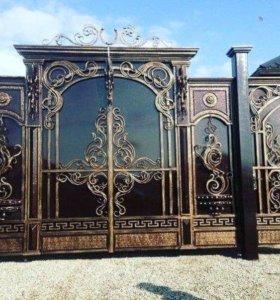 Кованные Ворота, и Двери