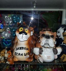Сувенирные собаки-копилки