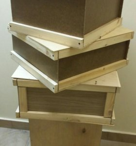 Ящики деревянные, жесткая упаковка