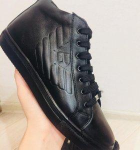 Ботинки мужские новые зимние 🔥Armani