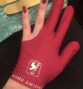 Перчатка для бильярда новая