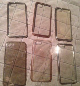 Прозрачные чехлы на iPhone 6