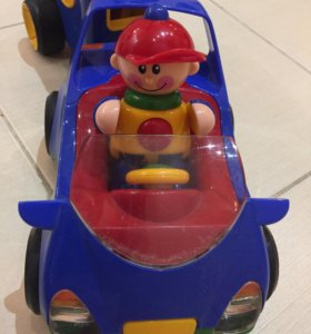 Развивающий автомобиль с прицепом Tolo