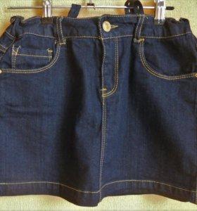 Новая юбка джинсовая Zara Испания оригинал S-M