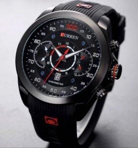 Часы новые с силиконовым ремешком.