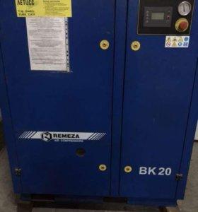 Винтовой компрессор Remeza ВК 20