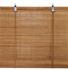 Штора рулонная Кабуки бамбуковая (2шт)