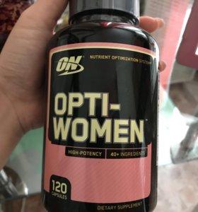 Витамины opti women