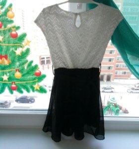 Нарядное платье 5-6лет