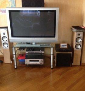 Комплект акустики avant с ресивером и dvd Yamaha