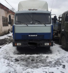 КАМАЗ 54115 сцепка