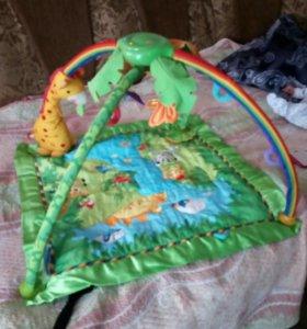 Продам детский развивающий, музыкальный коврик с п