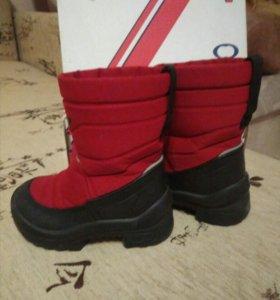 Зимние сапожки для девочки фирма Куоми