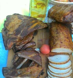 Домашняя колбаса, мясо и другие вкусняшки