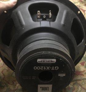 сабвуфер JBL GT-X1200