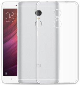 Мягкий силиконовый чехол на Xiaomi Redmi 4x