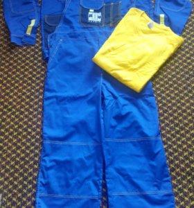 Рабочий комплект(куртка, комбинезон,3 футболки)